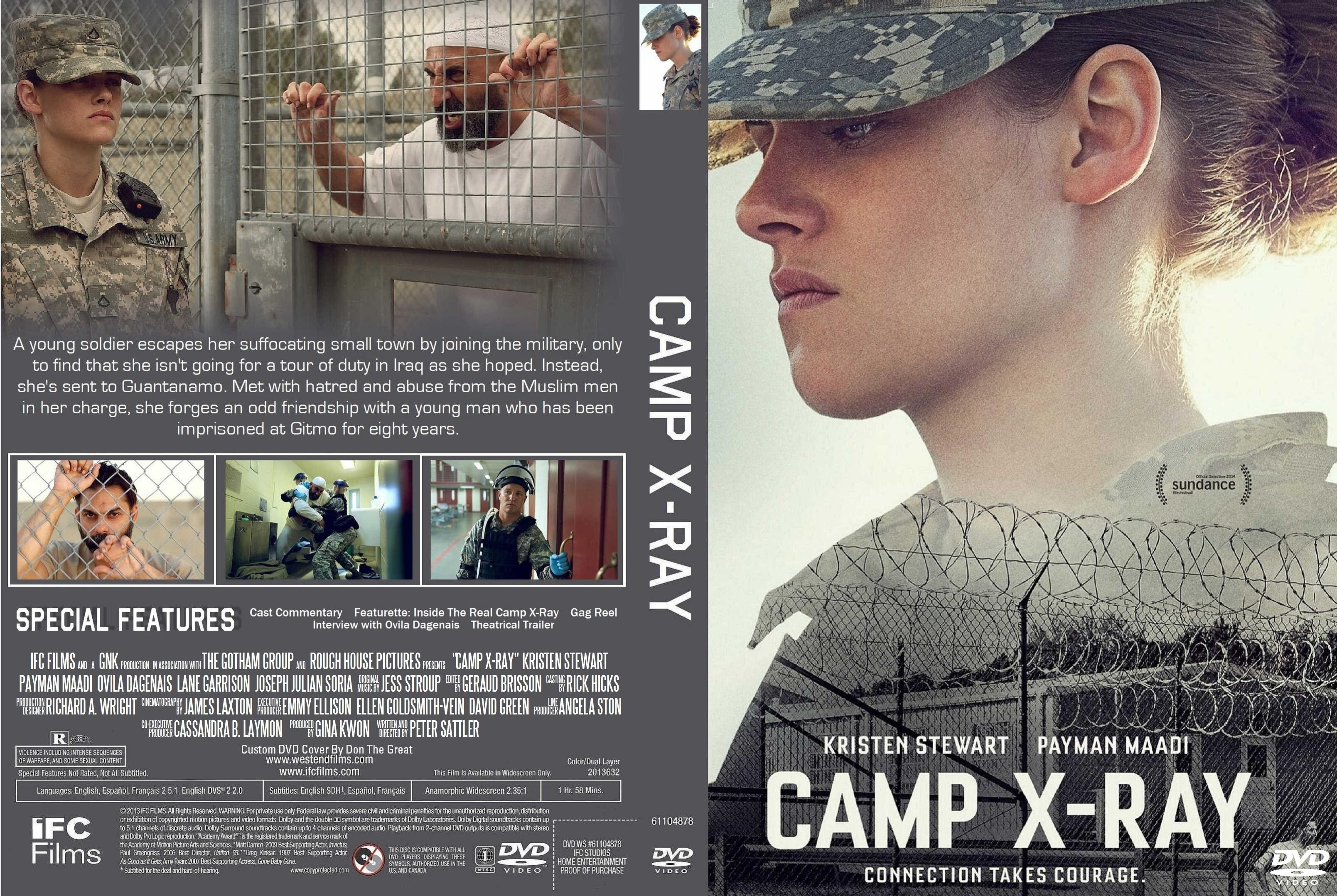 This page contains information about Camp XRay film Wikipedia.