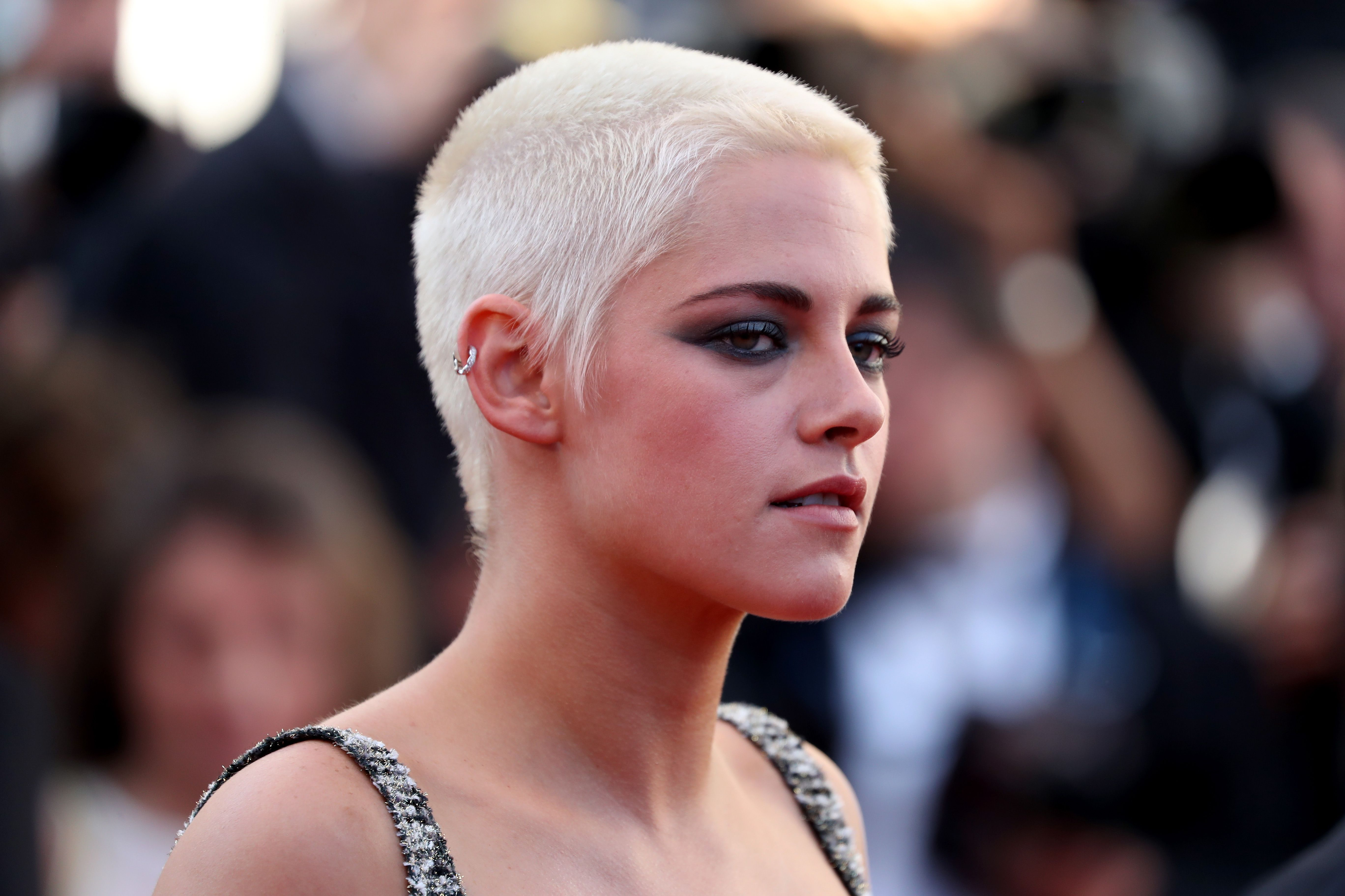Kristen Stewart Attends The Come Swim Premiere At The Cannes Film Festival Talking Kristen Stewart